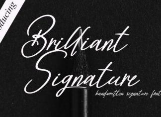 Brilliant Signature Script Font