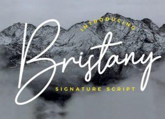 Bristany Handwritten Font