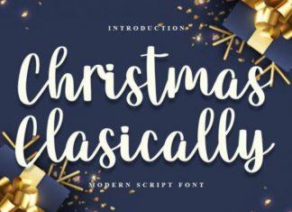 Christmas Classica Script Font