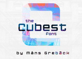 Cubest Sans Serif Font
