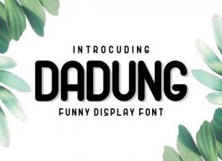 Dadung Display Font