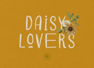 Daisy Lovers Display Font