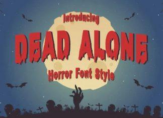 Dead Alone Display Font