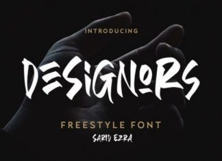 Designors Brush Font