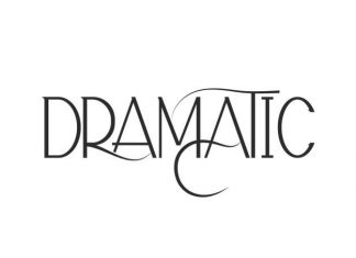 Dramatic Display Font