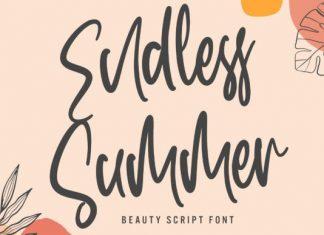 Endless Summer Script Font