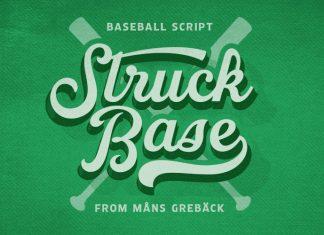 Struck Base Script Font