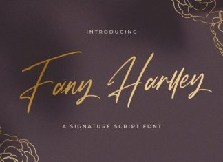 Fany Harlley Script Font