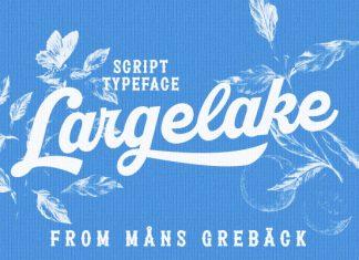 Largelake Script Font