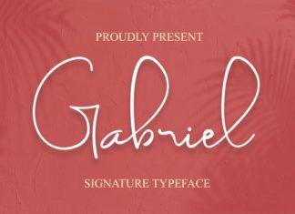 Gabriel Handwritten Font