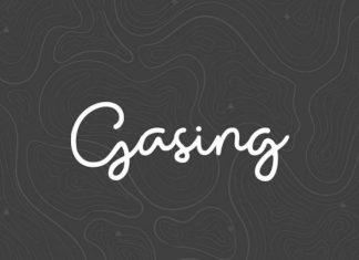 Gasing Handwritten Font