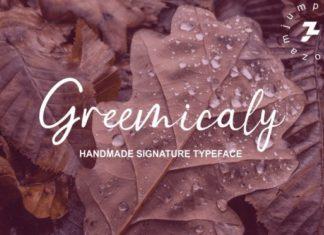 Greemicaly Script Font