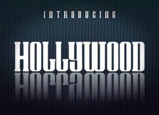 Hollywood Display Font
