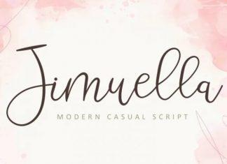 Jimuella Handwritten Font