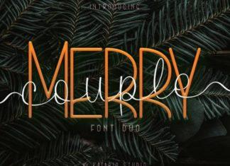 Merry Couple Script Font