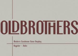 Oldbrothers Display Font