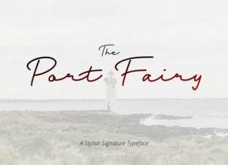 Port Fairy Handwritten Font