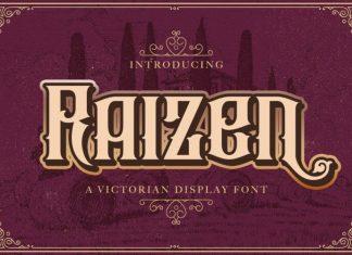 Raizen Display Font