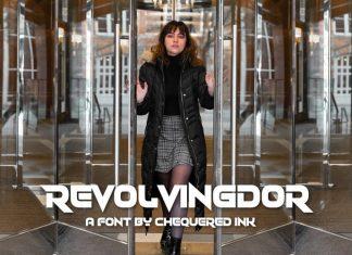Revolvingdor Display Font