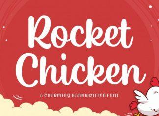 Rocket Chicken Script Font
