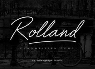 Rolland Handwritten Font