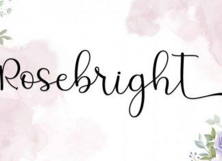 Rosebright Script Font