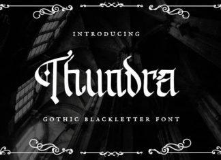 Thundra Display Font