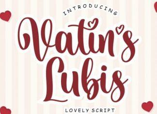 Vatin's Lubis Script Font