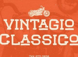 Vintagio Classico Display Font