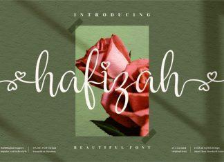 Hafizah Script Font