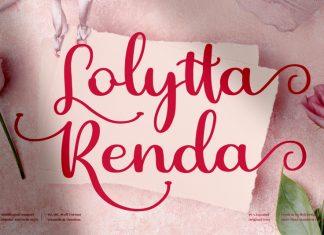 Lolytta Renda Script Font