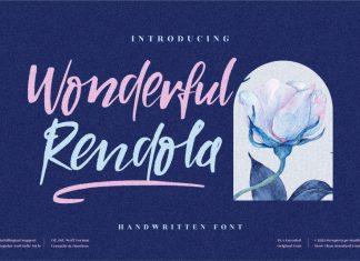 Wonderful Rendola Handwritten Font