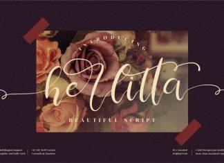 Herlitta Script Font