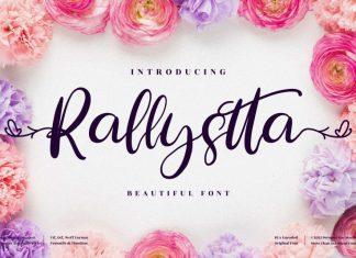 Rallystta Script Font