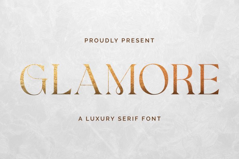 Glamore Serif Font