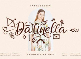 Darinella Script Font