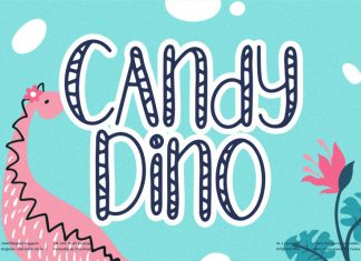 Candy Dino Display Font