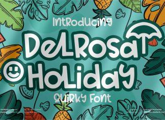 Delrosa Holiday Display Font