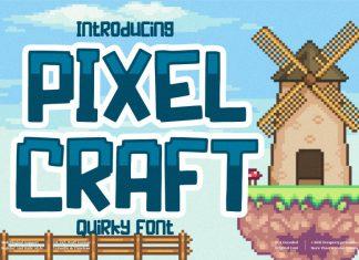 Pixel Craft Display Font