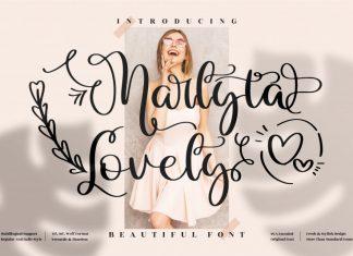 Marlyta Lovely Script Font