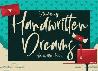 Handwritten Dreams Script Font