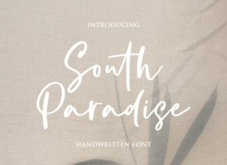 South Paradise Script Font