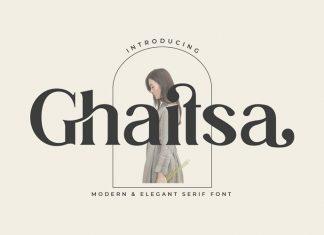 Ghaitsa Serif Font