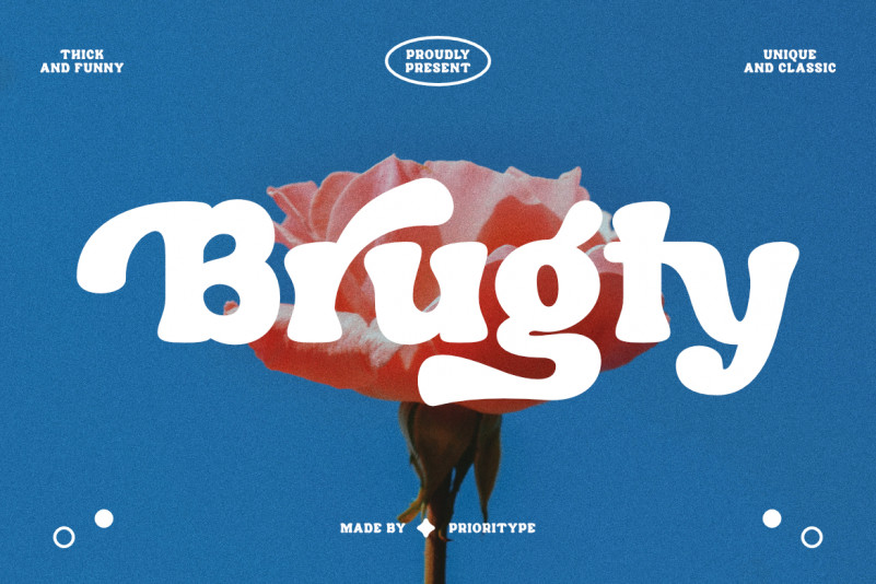 Brugty Display Font