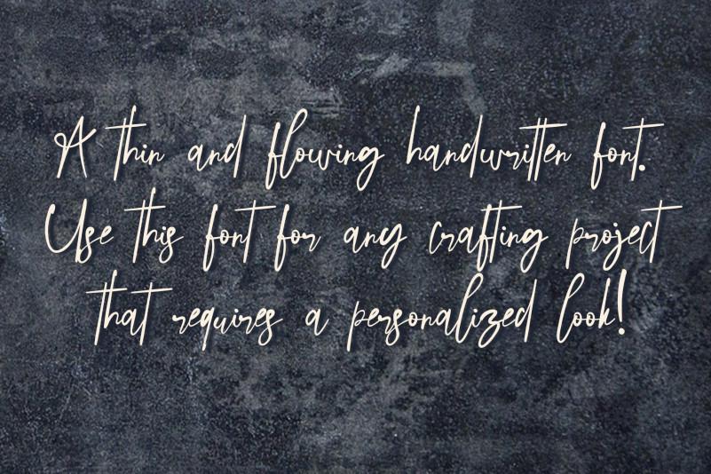 Streak Scratches Script Font