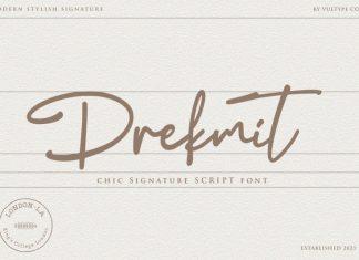 Drekmit Handwritten Font