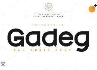 Gadeg Sans Serif Font