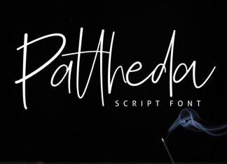 Pattheda Handwritten Font