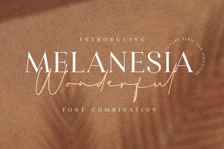 Wonderful Melanesia Handwritten Font