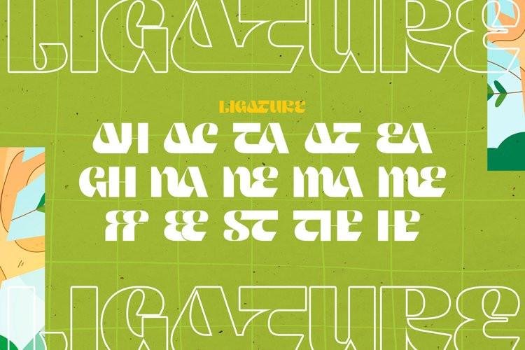 Keawneta Display Font